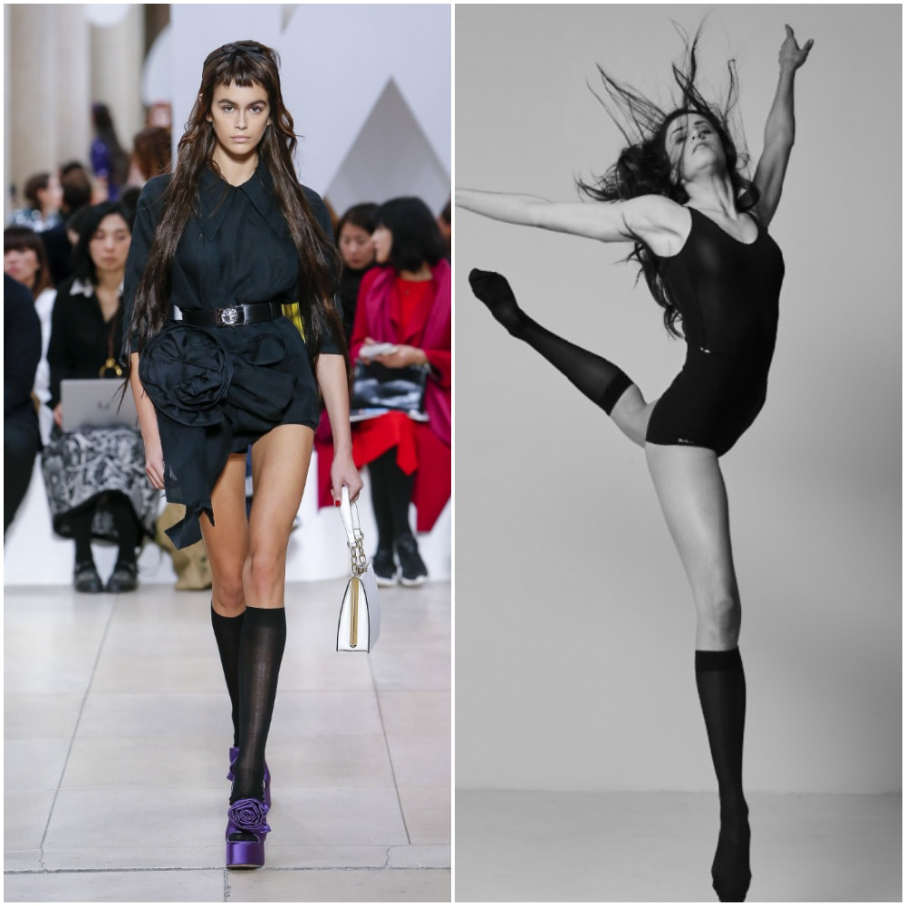 Girls-with-Compression-Socks