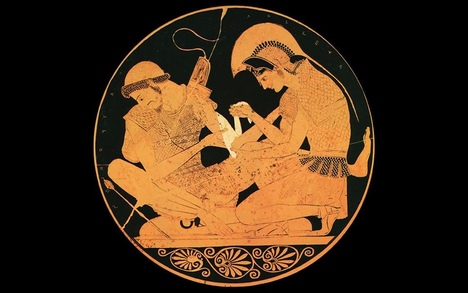 ancient greece bandage